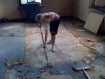 Ricketta floor scrapper